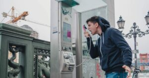 fair fighting rules man screaming at phone